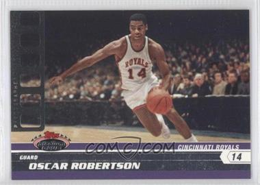 2007-08 Topps Stadium Club - [Base] - Photographer's Proof #96 - Oscar Robertson /199