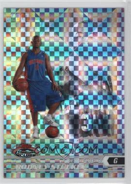 2007-08 Topps Stadium Club - Chrome - X-Fractor #115 - Rodney Stuckey /50