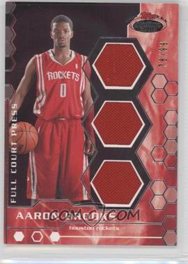2007-08 Topps Stadium Club - Full Court Press Relics - Triple #FCPTR-AB - Aaron Brooks /99