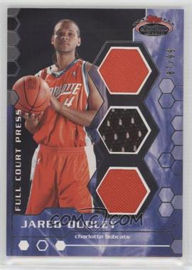 2007-08 Topps Stadium Club - Full Court Press Relics - Triple #FCPTR-JD - Jared Dudley /99