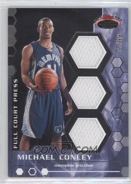 2007-08 Topps Stadium Club - Full Court Press Relics - Triple #FCPTR-MC - Mike Conley /99