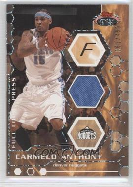 2007-08 Topps Stadium Club - Full Court Press Relics #FCPR-CA - Carmelo Anthony /499