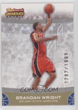 2007-08 Topps Trademark Moves - [Base] #100 - Brandan Wright /1999