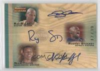 Rodney Stuckey, Nick Young, Ray Allen /39