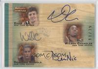 David Lee, Wilson Chandler, Demetris Nichols /39