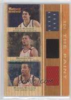 Brandon Roy, Adam Morrison, Marcus Williams #/99