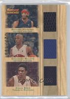 Richard Hamilton, Chauncey Billups, Chris Bosh #/199
