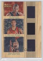 Al Horford, Brandan Wright, Sean Williams #/199