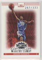 Marcus Camby /333