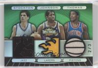 John Stockton, Magic Johnson, Isiah Thomas /3
