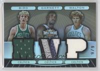 Larry Bird, Kevin Garnett, Bill Walton /9