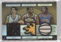 John Stockton, Magic Johnson, Isiah Thomas /9