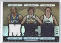 Mike Conley, Pau Gasol, Mike Miller /9