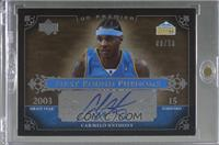 Carmelo Anthony [Noted] #/50