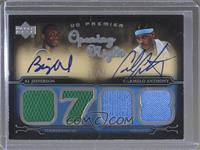Al Jefferson, Carmelo Anthony /25