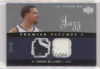 Deron Williams [Noted] #/15