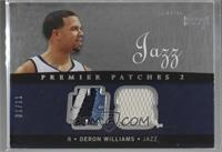 Deron Williams [Noted] #/11