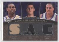 Ron Artest, Spencer Hawes, Mike Bibby /99