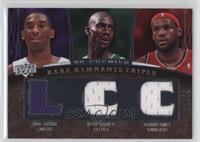 Kobe Bryant, Kevin Garnett, Lebron James /99
