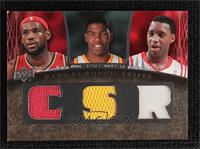 Lebron James, Kevin Durant, Tracy McGrady [Noted] #/99