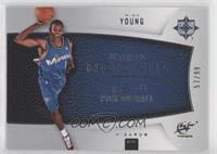 Ultimate Rookie - Nick Young [EXtoNM] #/99