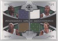 Paul Pierce, Ray Allen, Kevin Garnett, Larry Bird /25
