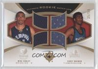 Mike Conley, Corey Brewer #/50