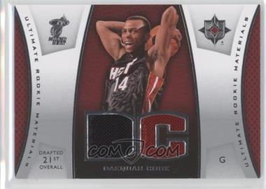 2007-08 Ultimate Collection - Ultimate Rookie Materials #ULTR-DC - Daequan Cook