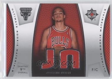 2007-08 Ultimate Collection - Ultimate Rookie Materials #ULTR-JN - Joakim Noah