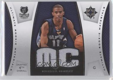 2007-08 Ultimate Collection - Ultimate Rookie Materials #ULTR-MC - Mike Conley