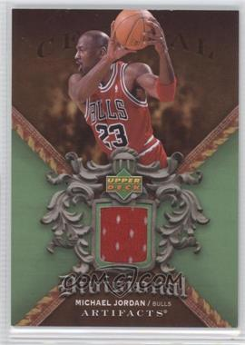 2007-08 Upper Deck Artifacts - Divisional Artifacts - Green #DA-MJ - Michael Jordan