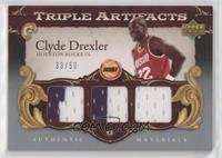 Clyde Drexler #/50