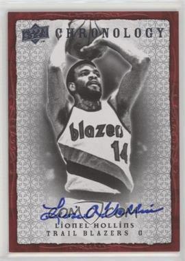 2007-08 Upper Deck Chronology - [Base] - Autographs [Autographed] #63 - Lionel Hollins