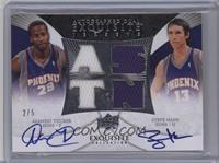 Alando Tucker, Steve Nash /5 [Near Mint]