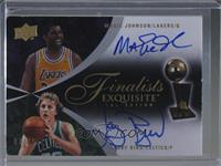 Magic Johnson, Larry Bird /25