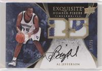 Al Jefferson [Noted] #/25