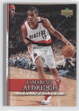 2007-08 Upper Deck First Edition - [Base] #68 - LaMarcus Aldridge