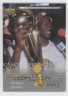 2007-08 Upper Deck First Edition - Champions of the Court #CC-MJ - Michael Jordan