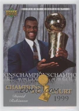 2007-08 Upper Deck First Edition - Champions of the Court #CC-RO - David Robinson