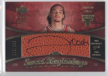 2007-08 Upper Deck Sweet Shot - [Base] #93 - Sweet Beginnings Signatures - Joakim Noah /299
