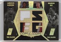 Brandon Roy, LaMarcus Aldridge /10