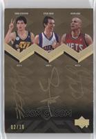 Steve Nash, John Stockton, Jason Kidd /10