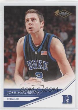 2007 Press Pass Collectors Series - [Base] #13 - Josh McRoberts