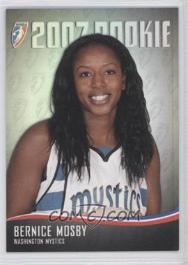 2007 Rittenhouse WNBA - 2007 Rookie #RC6 - Bernice Mosby /444