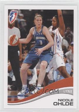 2007 Rittenhouse WNBA - [Base] #7 - Nicole Ohlde