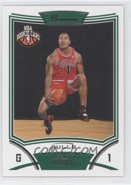 2008-09 Bowman Draft Picks & Stars - [Base] #111 - NBA Rookie Card - Derrick Rose