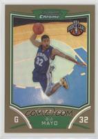 NBA Rookie Card - O.J. Mayo #/50