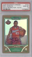 NBA Rookie Card Autograph - Eric Gordon [PSA10GEMMT] #/25