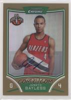 NBA Rookie Card Autograph - Jerryd Bayless #/25