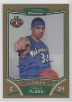 NBA Rookie Card Autograph - JaVale McGee #/25